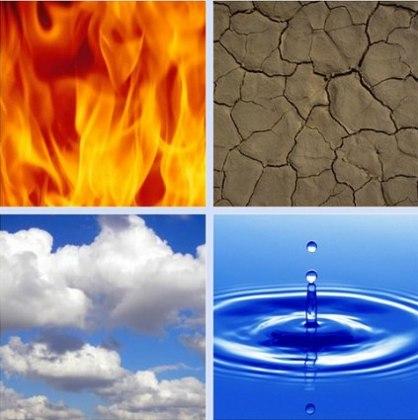 fuego tierra aire agua