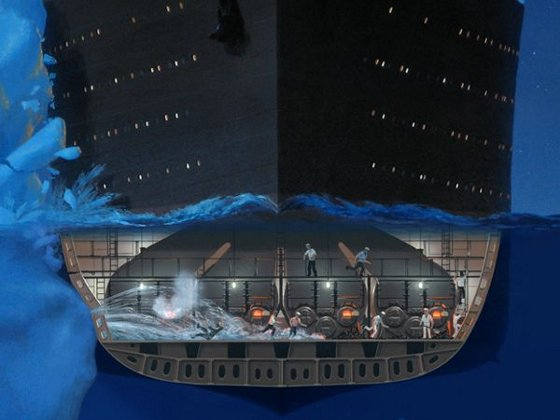 titanic rotura
